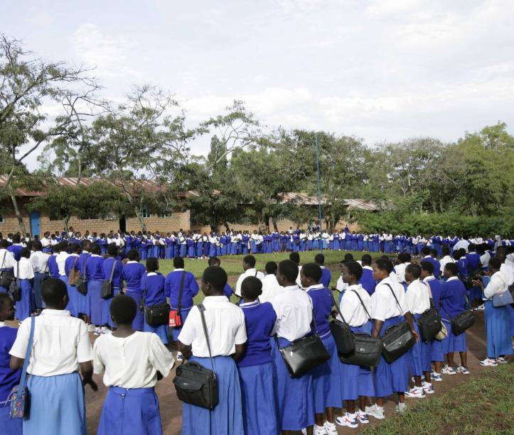 Congo, primo giorno di scuola