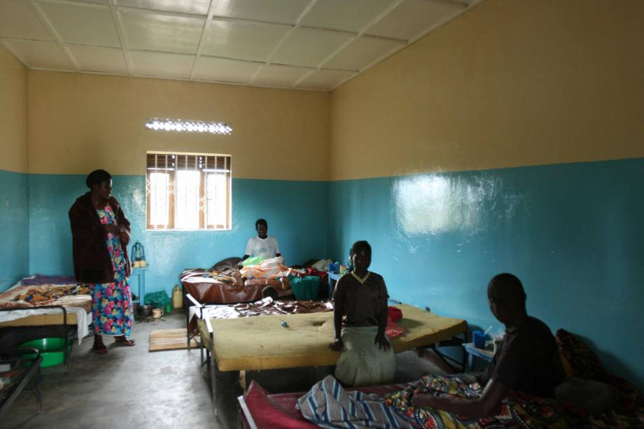 Ariuara, Ospedale, reparto maternità