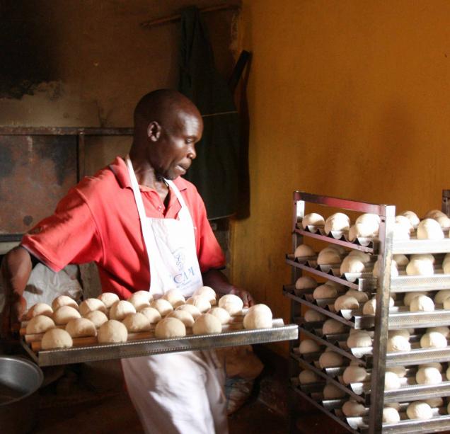 Il forno in Congo
