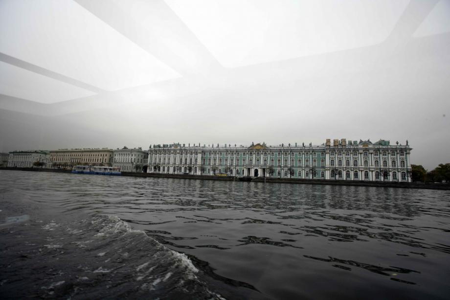Vista del Museo Ermitage