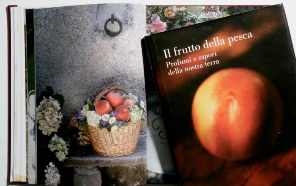 Il frutto della pesca - copertina e pagina intena