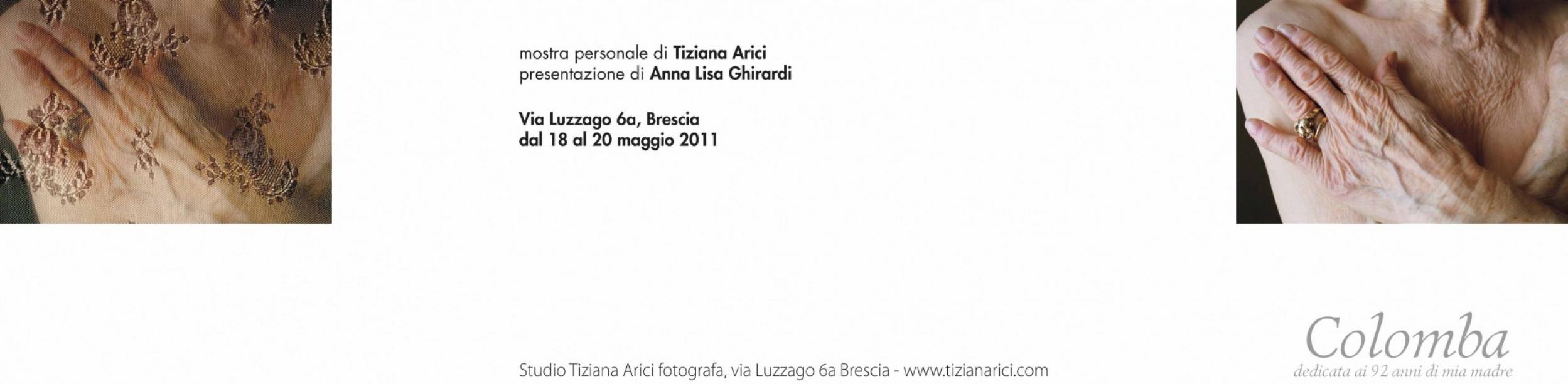 Colomba - Maggio 2012 - brochure mostra