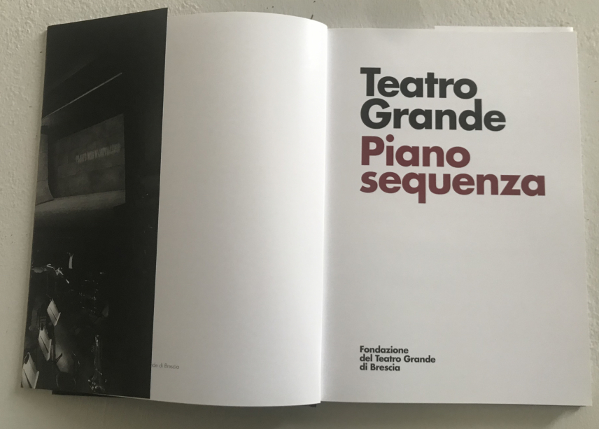 Piano Sequenza, Il Teatro Grande