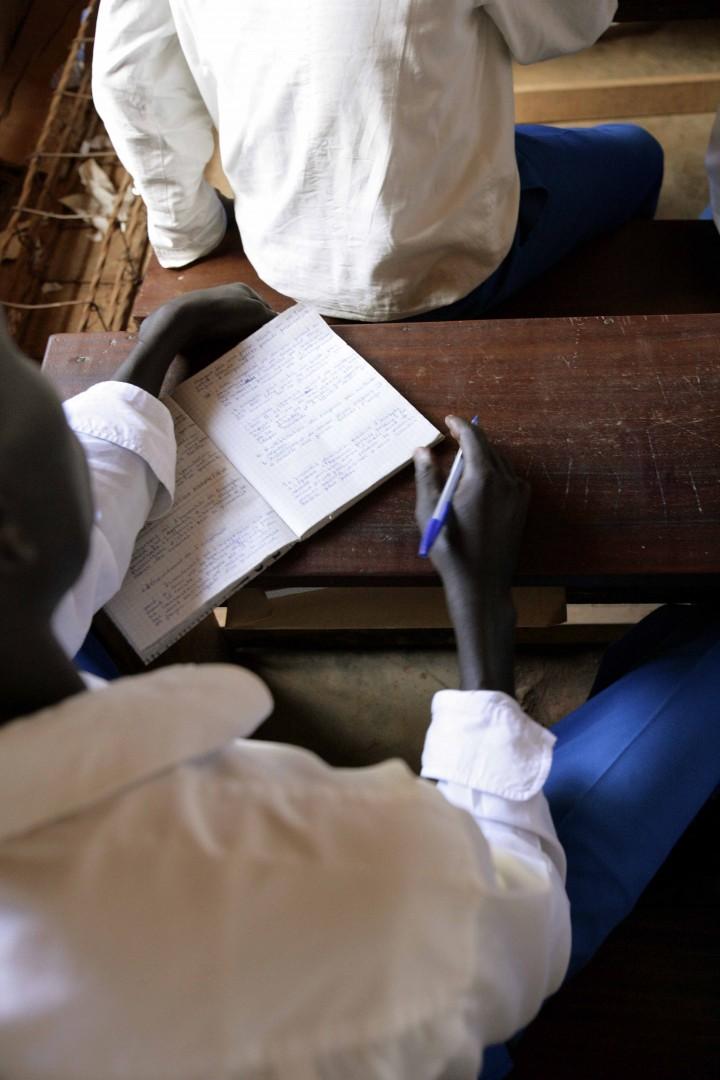 immagini dal Congo, scuola superiore