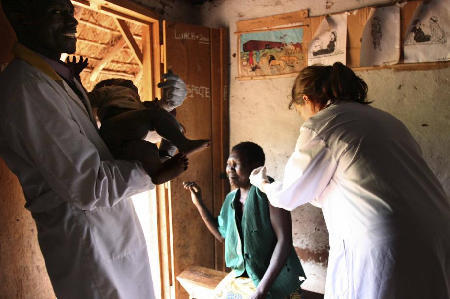 vaccinazioni al villaggio