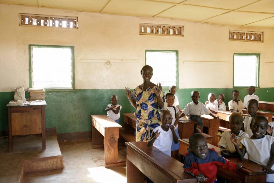 scuola elementare ad Aru